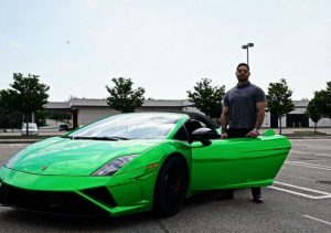 Prady Tewarie With Green Lambo. He gives advice to 20 year olds.