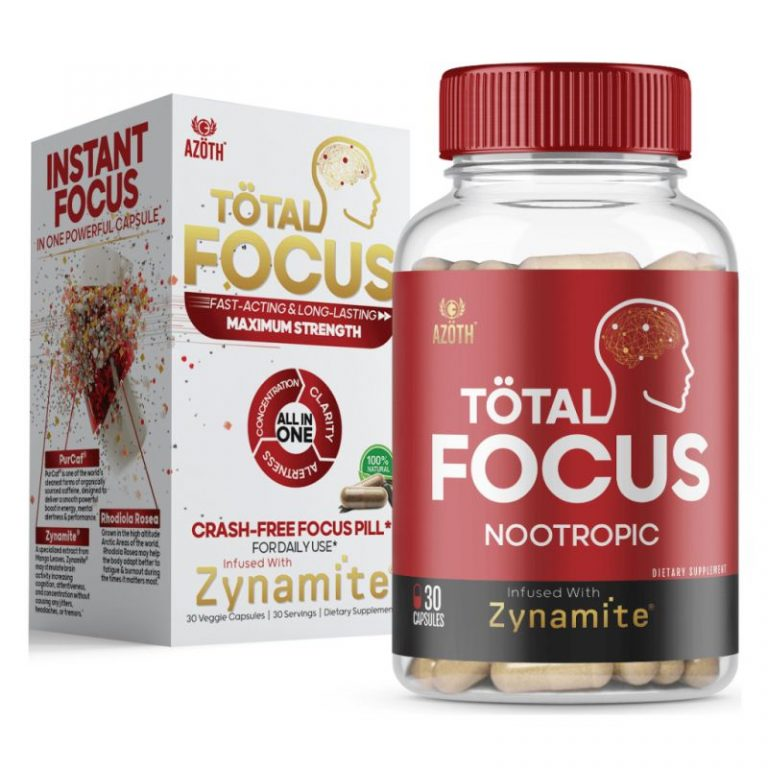 Azoth Total Focus bottle with box