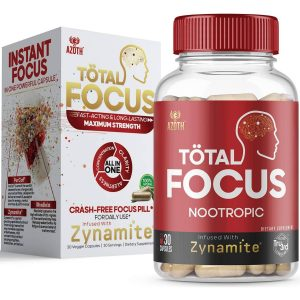 Product: AZOTH Total Focus Instant Focus Energy Attention Concentration Nootropic Brain Supplement