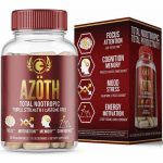 Azoth 2.0 Total Nootropic Brain Supplement for Focus Memory Motivation Confidence