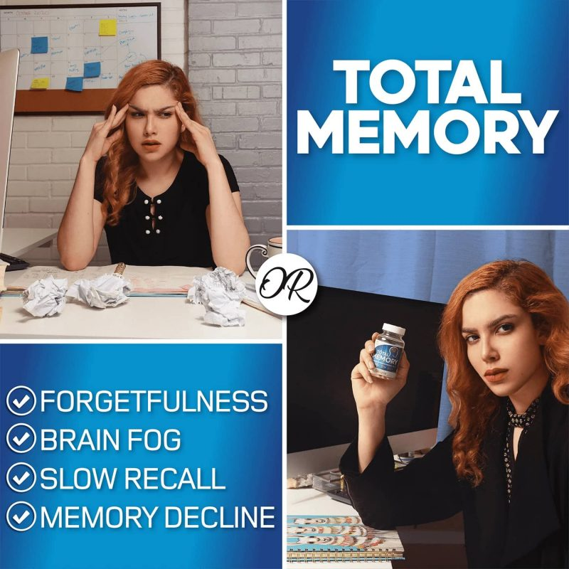 Indications: AZOTH Total Memory Supplement Brain Extra Strength Memory Boost Cognition Focus Mental Clarity