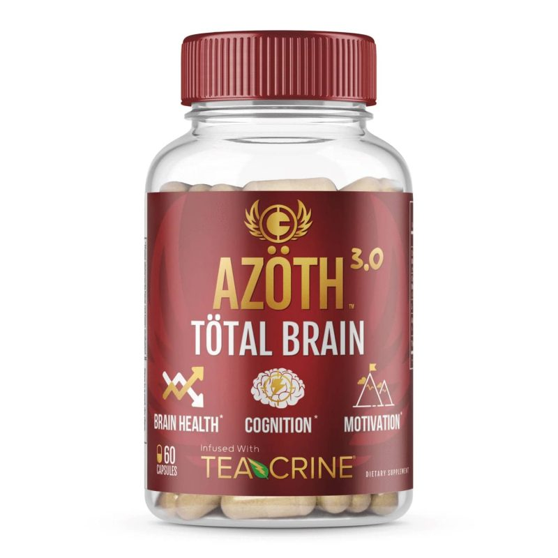 Product: Azoth 3.0 Total Brain Supplement for Brain Health, Cognitive Performance & Motivation